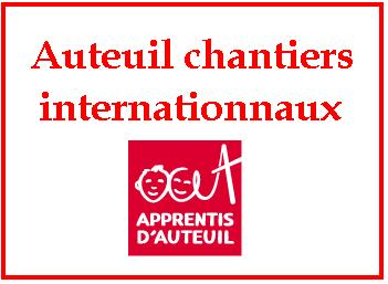 auteuil chantier internationnaux